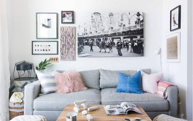 Дизайн гостиной 2021 (+75 фото)