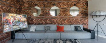 Interieur de salon en couleur wenge idees de design chics