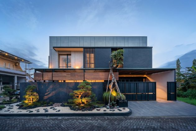 J House par y0 Design Architect à Sidoarjo, Indonésie