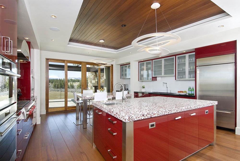 Modern-in-Red-by-Dansky-Handcrafted-LLC Les meilleurs conseils de design d'intérieur et de décoration des années 70 que vous pouvez utiliser