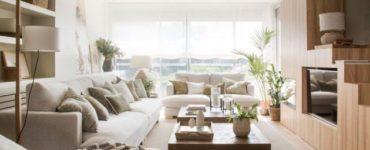 Rénovation de luminosité, de chaleur et de meubles multifonctionnels