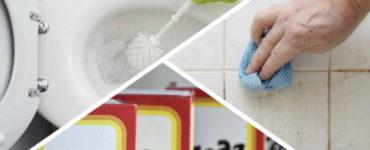 Подборка лайфхаков для идеально чистой ванной без лишних затрат