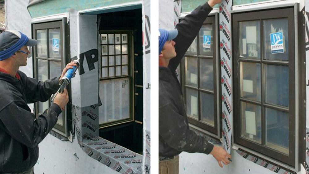 taping1 Comment installer le ruban clignotant pour fenêtre sans erreur