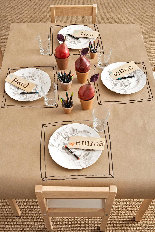 t4-5 Idées de décoration de Thanksgiving qui donneront une belle apparence à votre maison
