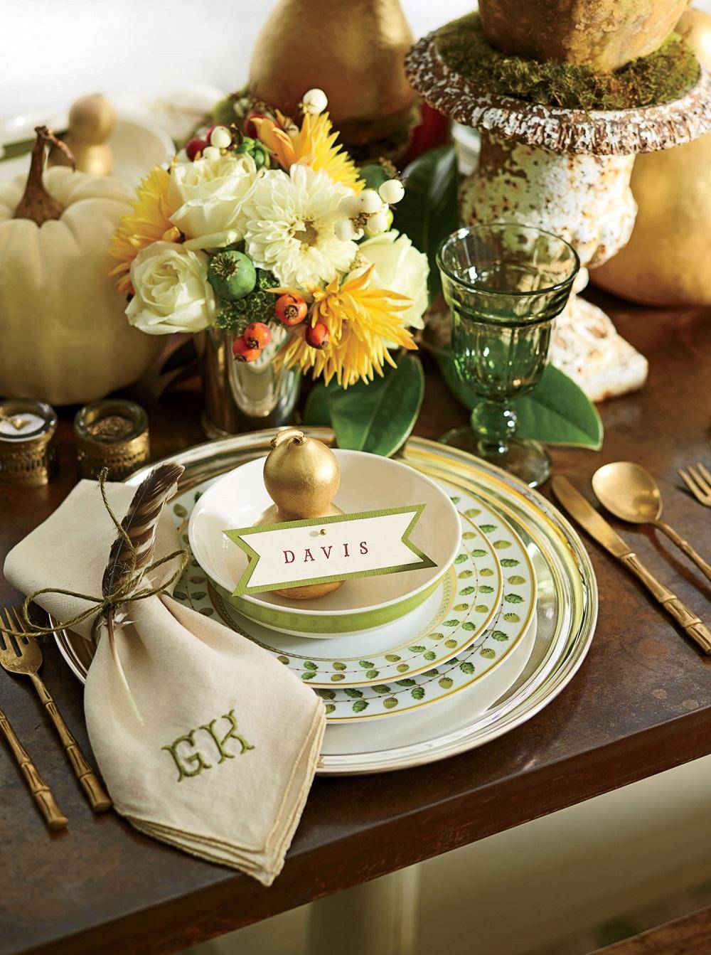 t3-66 Idées de décoration de Thanksgiving qui donneront une belle apparence à votre maison