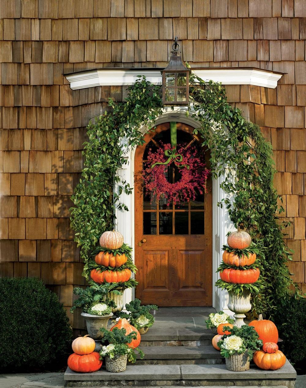 t3-62 Idées de décoration de Thanksgiving qui donneront une belle apparence à votre maison