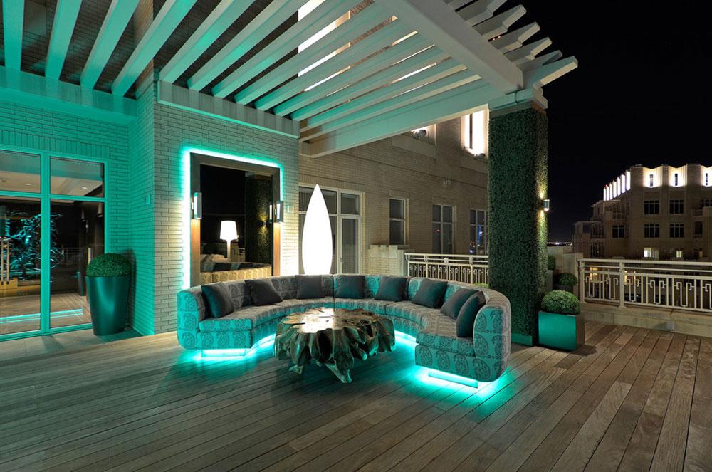 Modern-McKinney-Avenue-by-Harold-Leidner-Landscape-Architects De superbes idées d'éclairage de terrasse que vous pouvez utiliser chez vous
