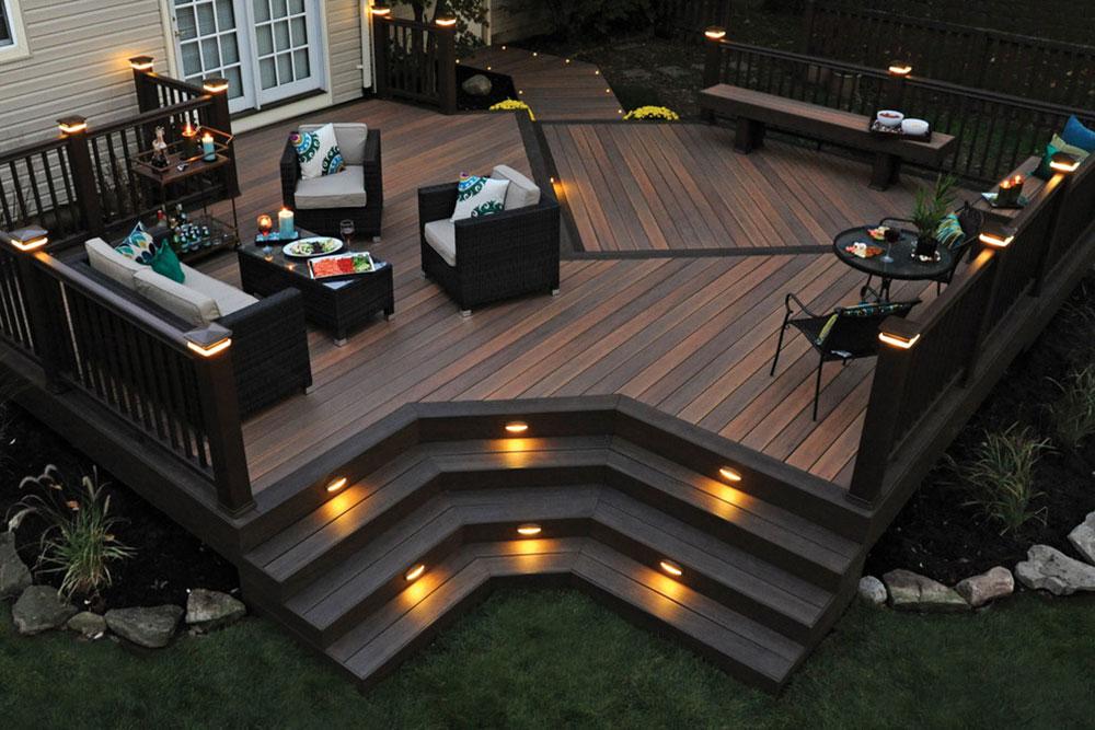 Timbertech-Legacy-Decking-by-Stellar-Decks Des idées d'éclairage de terrasse impressionnantes que vous pouvez utiliser chez vous