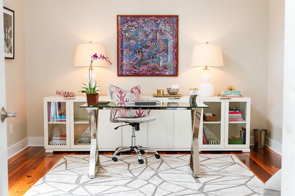 Bradley-Place-Office-by-Gathered Que faire avec de vieilles armoires de cuisine (idées d'armoires réutilisées)