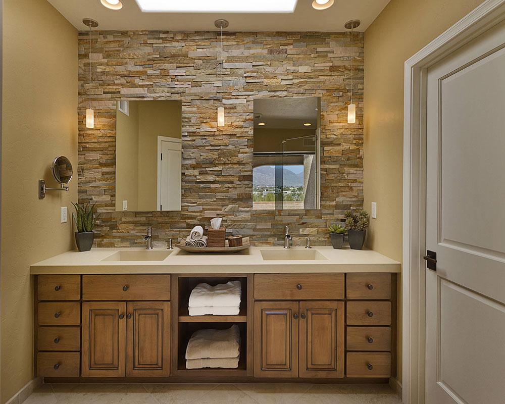 Salles de bains par Arizona-Designs-Cuisines-and-Baths Que faire avec de vieilles armoires de cuisine (idées d'armoires réutilisées)