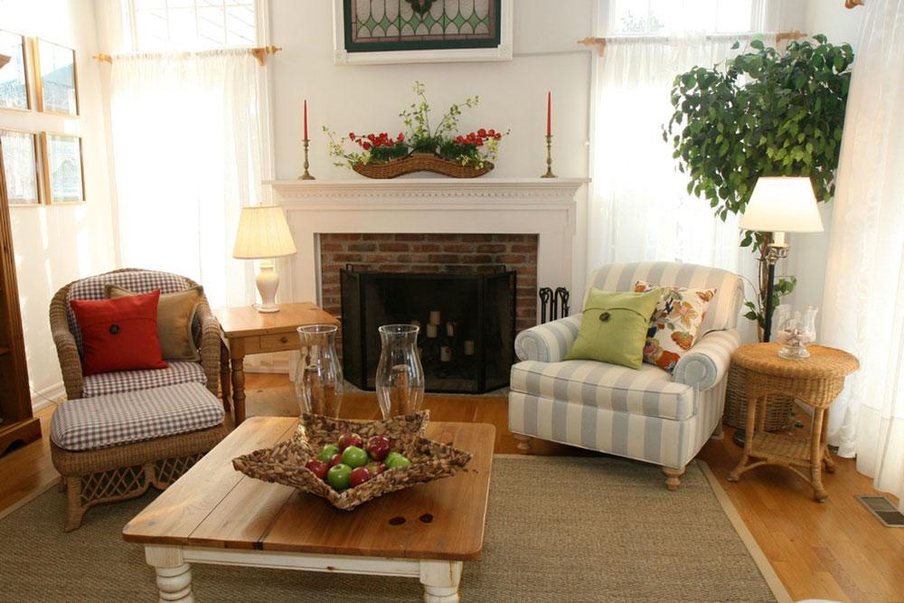 Hamptons-Beach-House-by-Diana-Bier-Interiors-LLC Comment décorer un manteau de cheminée (Idées de décoration soignées)