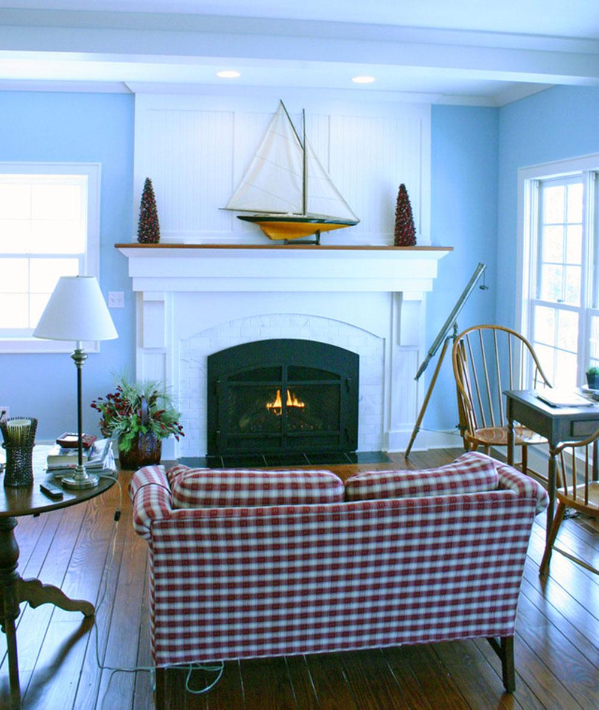 Artist-Bay-Addition-by-Highland-Builders-LLC Comment décorer un manteau de cheminée (Idées de décoration soignées)