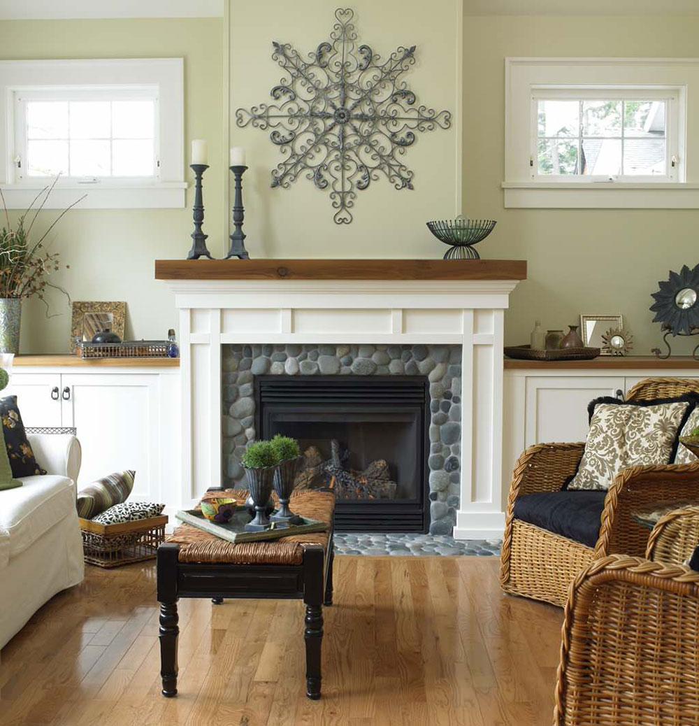 Cape-Cod-Victoria-by-Christopher-Developments Comment décorer un manteau de cheminée (Idées de décoration soignées)