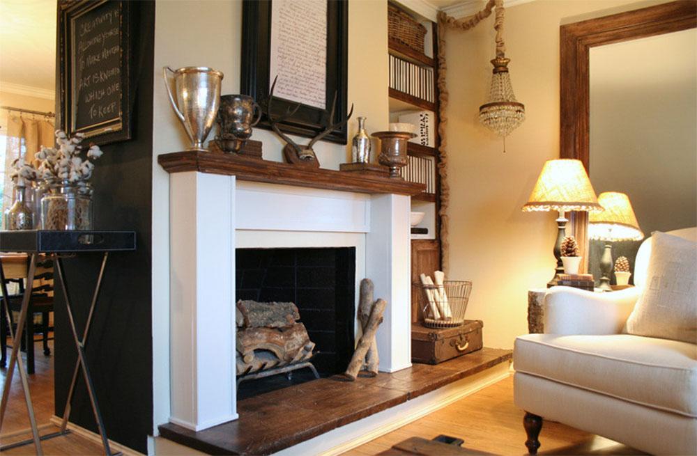 Salon-par-Jennifer-Gray-Interiors-Design-n-Color-Specialist Comment décorer un manteau de cheminée (idées de décoration soignées)