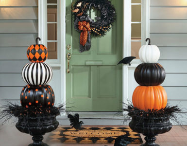 go-black ModernHalloweendécor that you can try in your house