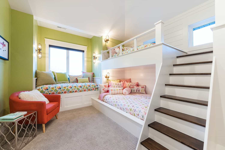 artisan-chambre-enfants-lits superposés