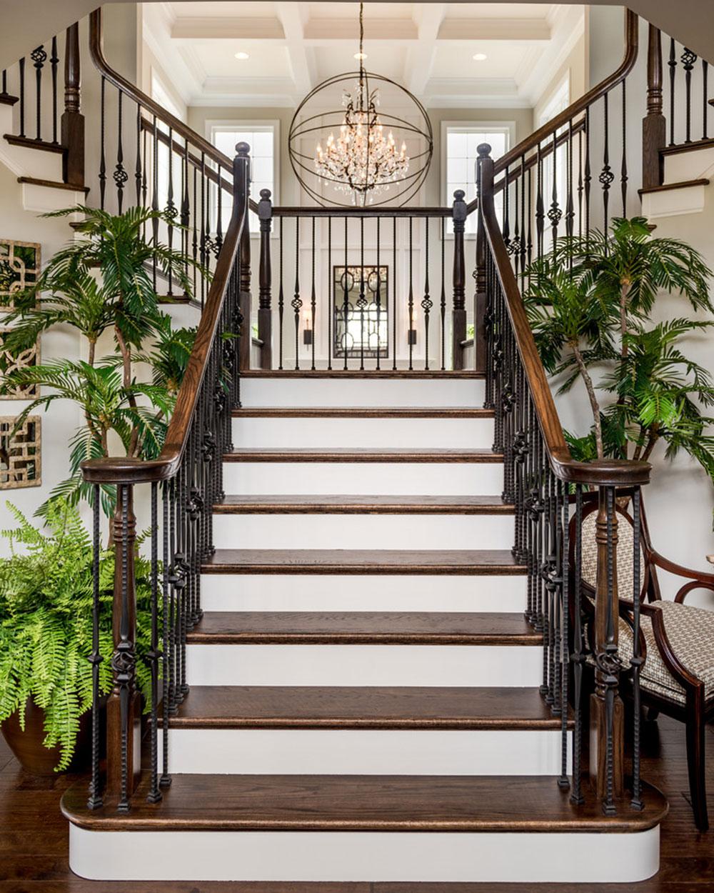 Custom-Home-in-Black-Rock-Estates-by-Custom-Home-Group Les différents types d'escaliers à connaître