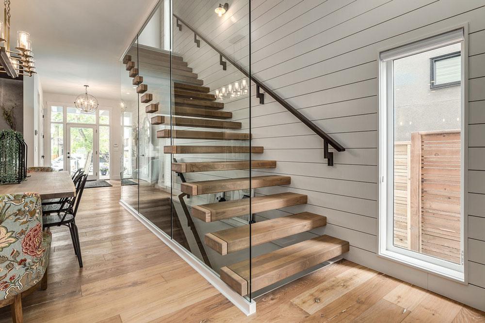 Modern-Farmhouse-in-Altadore-by-Trickle-Creek-Designer-Homes Les différents types d'escaliers à connaître