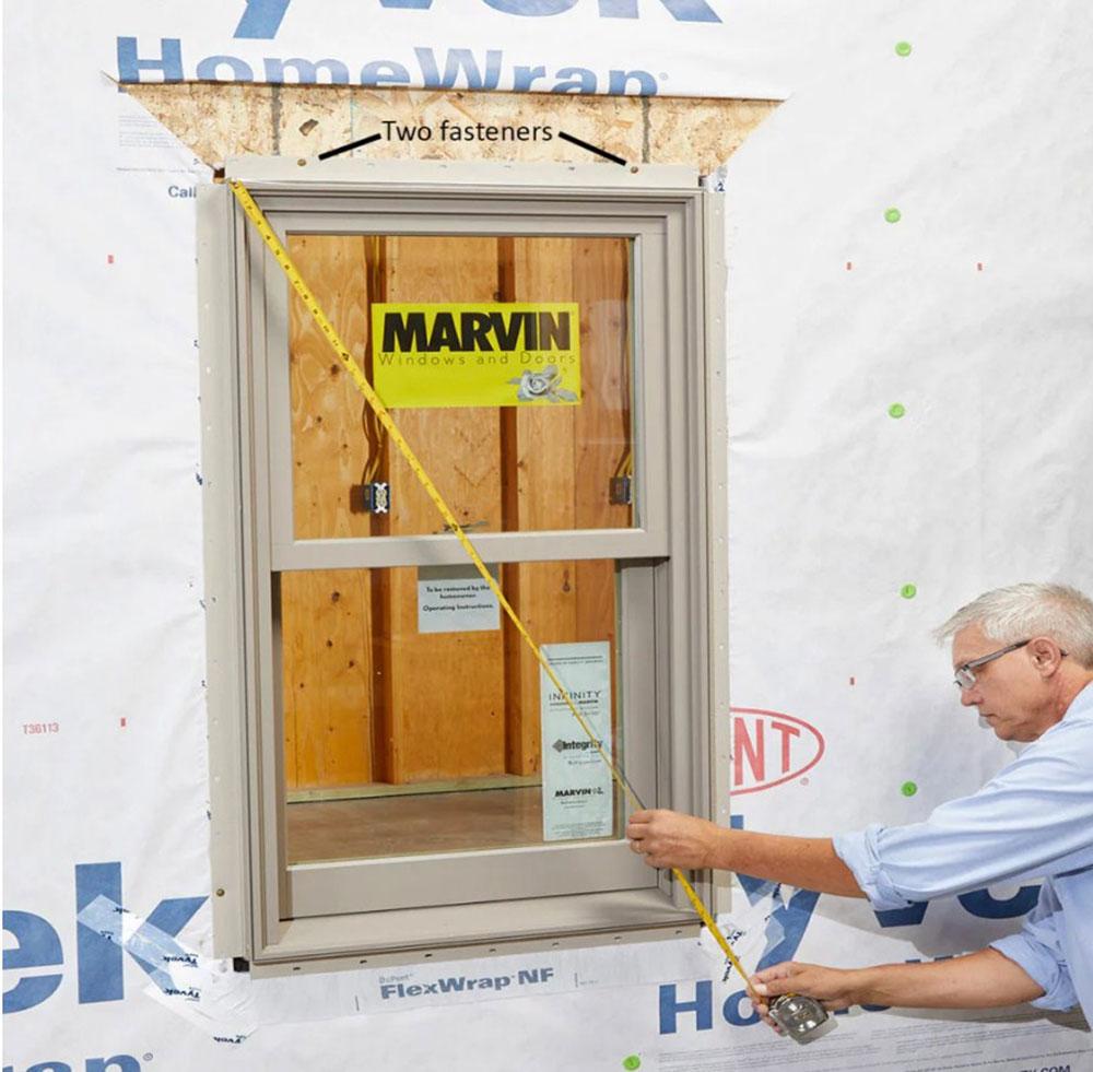 mesurer Comment installer le ruban de clignotant de fenêtre sans erreur