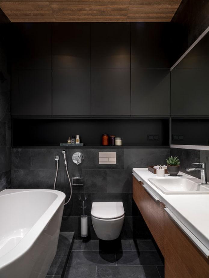 façades noir mat
