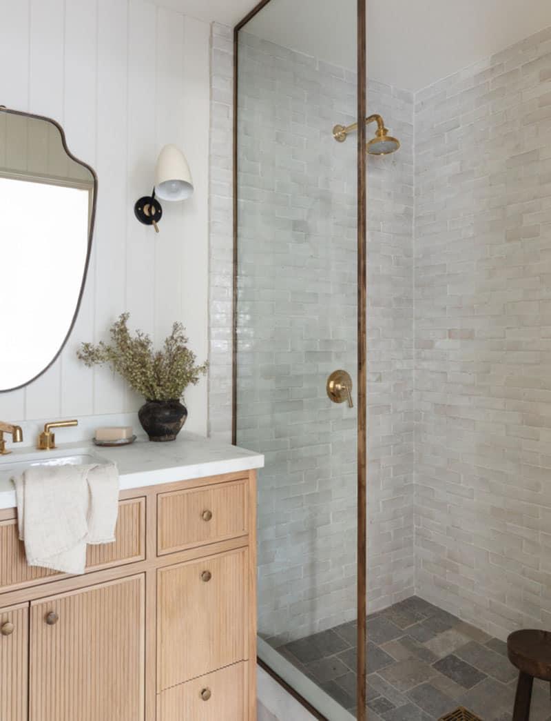 salle de bain style côte ouest