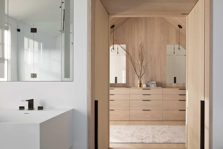 salle de bain moderne de style plage