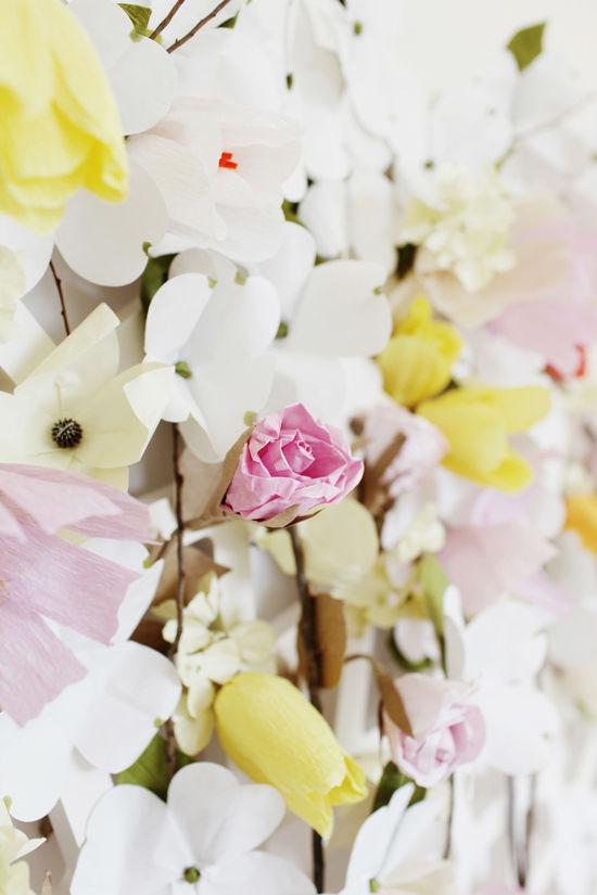 designlovefest-tête de lit-bricolage-fleurs