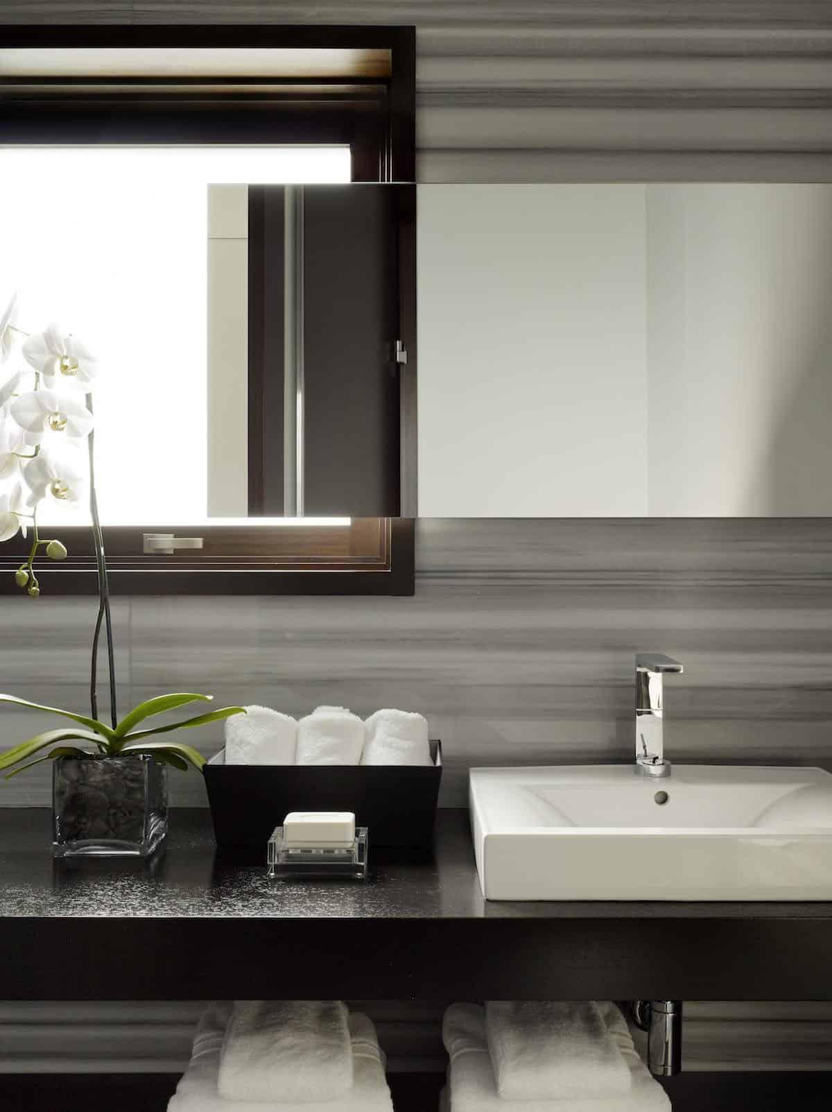salle de bain moderne-rustique