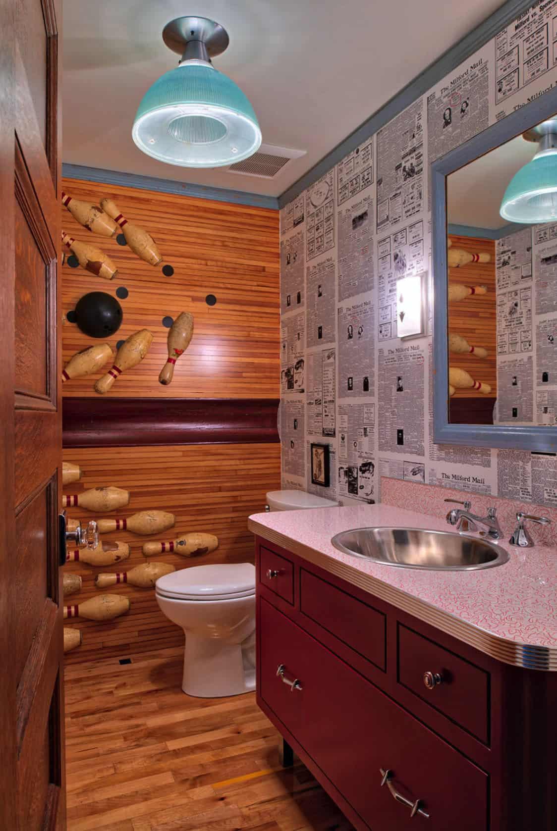 salle d'eau éclectique