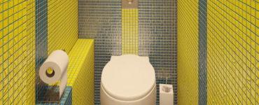 Как создать современный дизайн туалета в хрущевке? (40 фото)