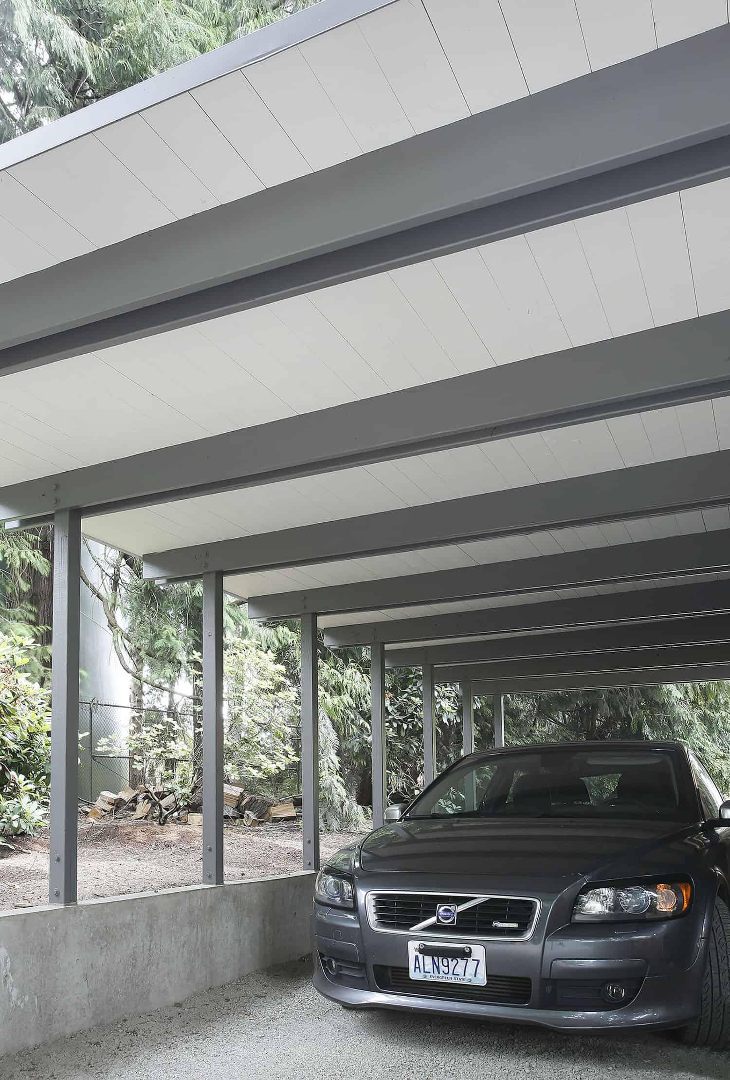 garage-maison-moderne-du milieu du siècle