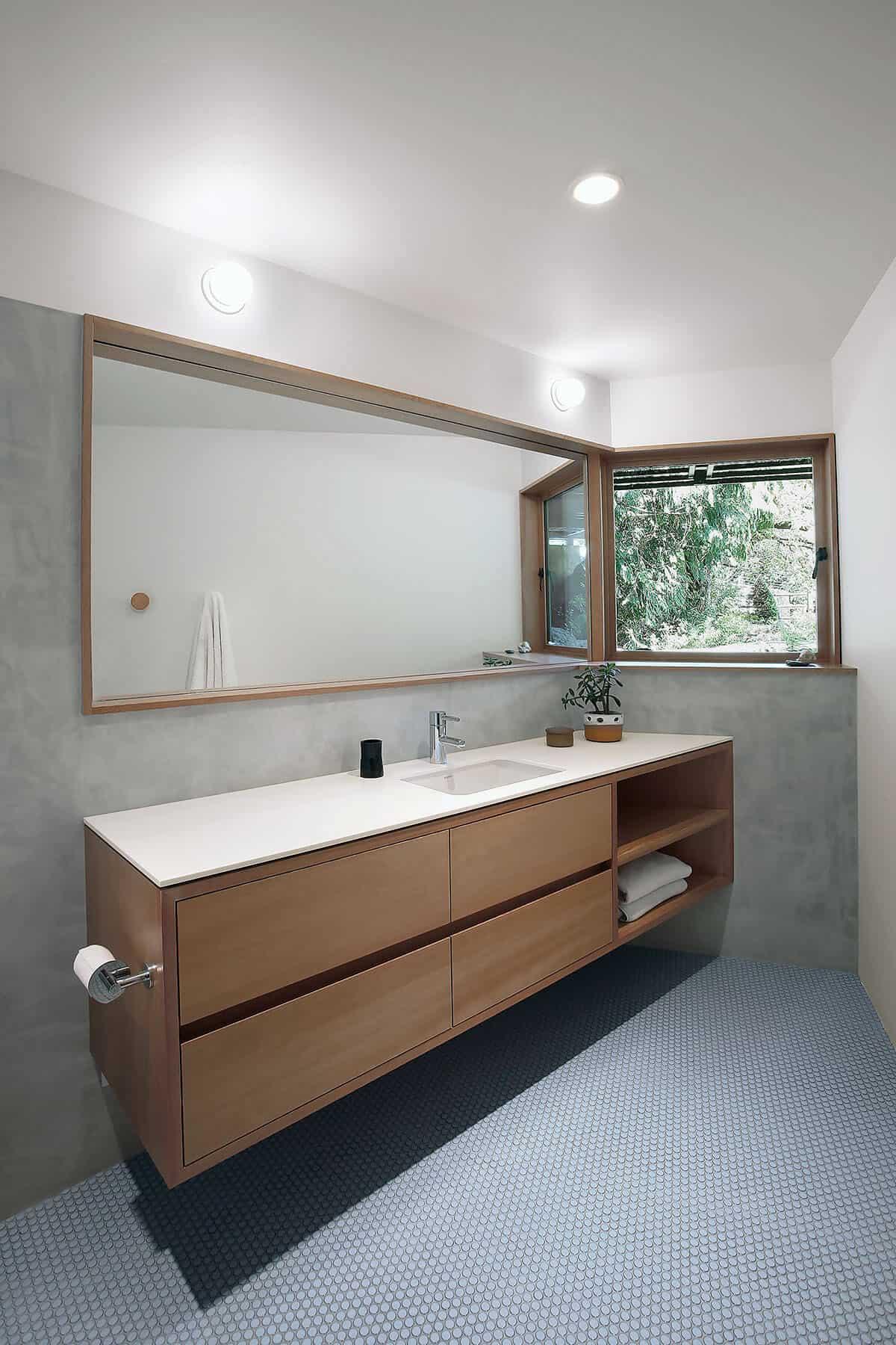 salle de bain du milieu du siècle