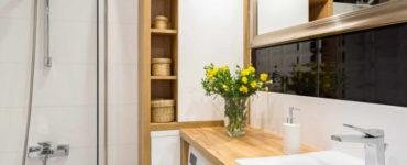 10 идей как сэкономить место в маленькой ванной