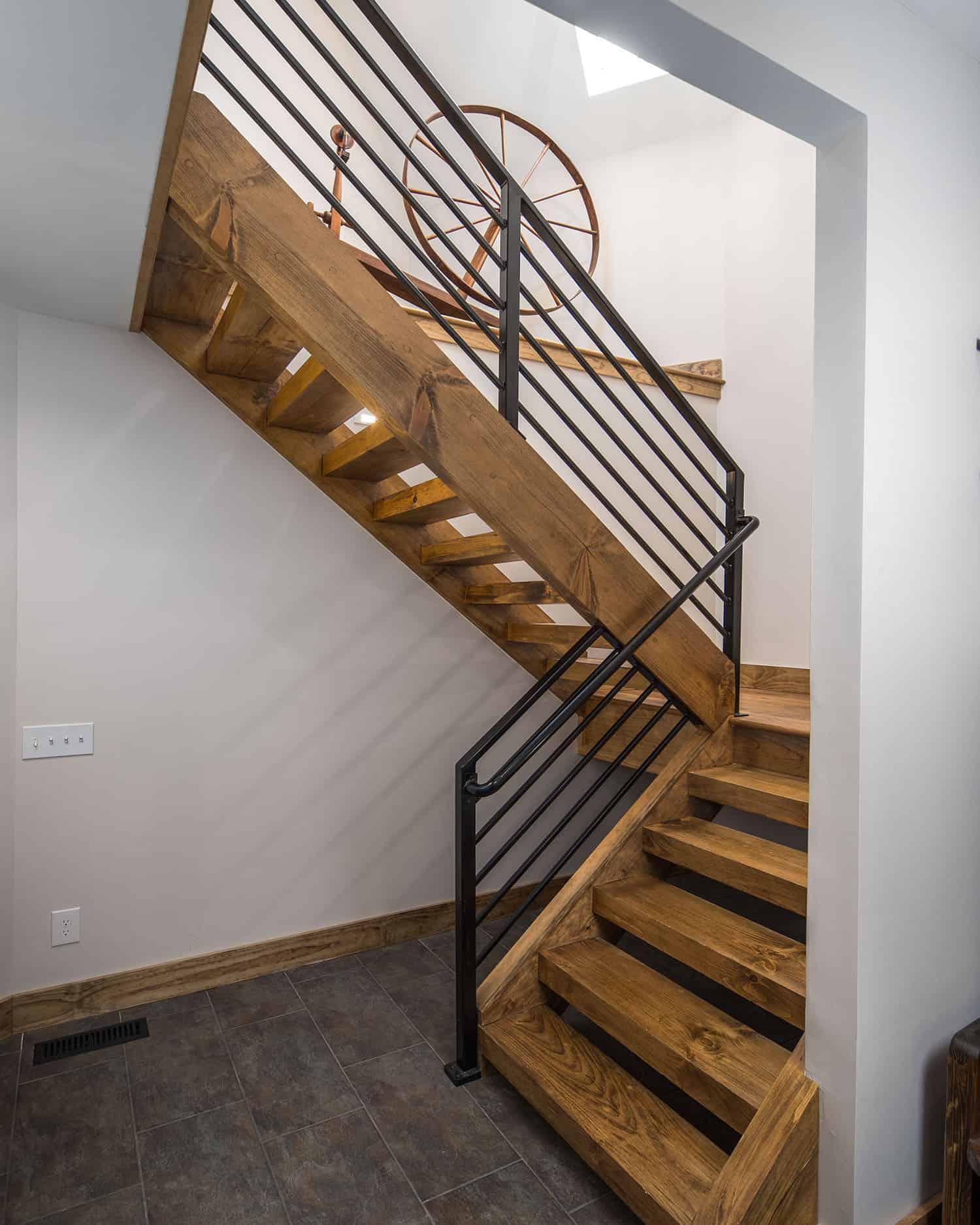 escalier montagnard