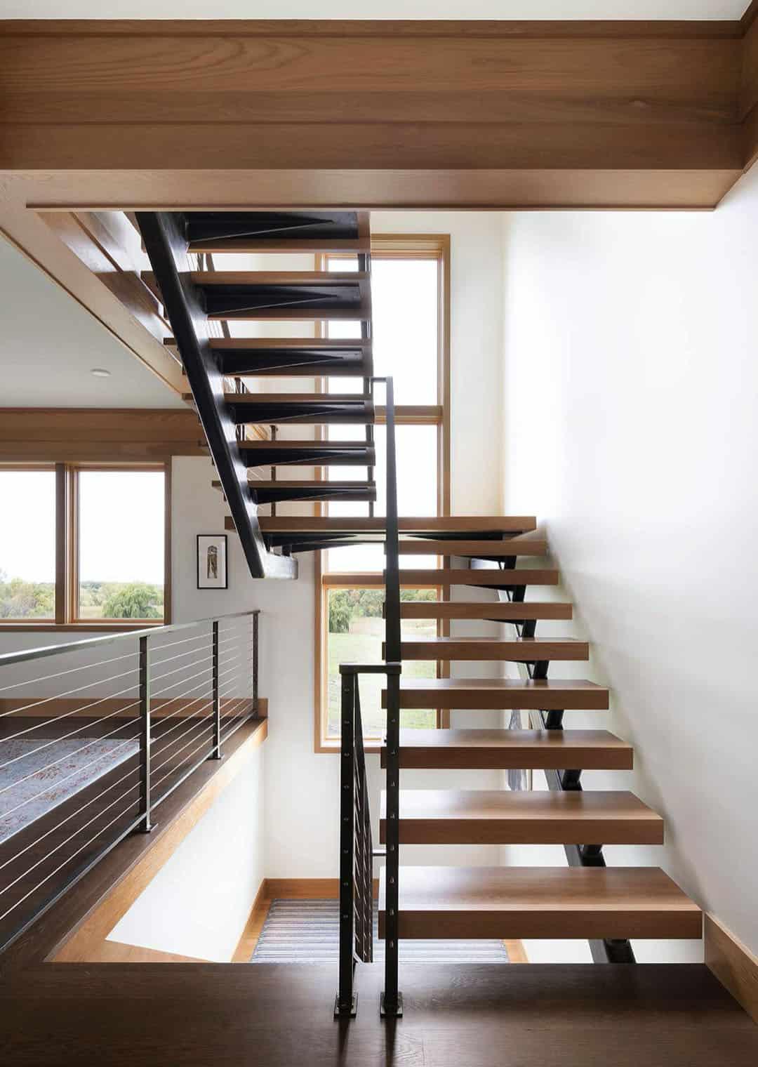 escalier-rustique-moderne