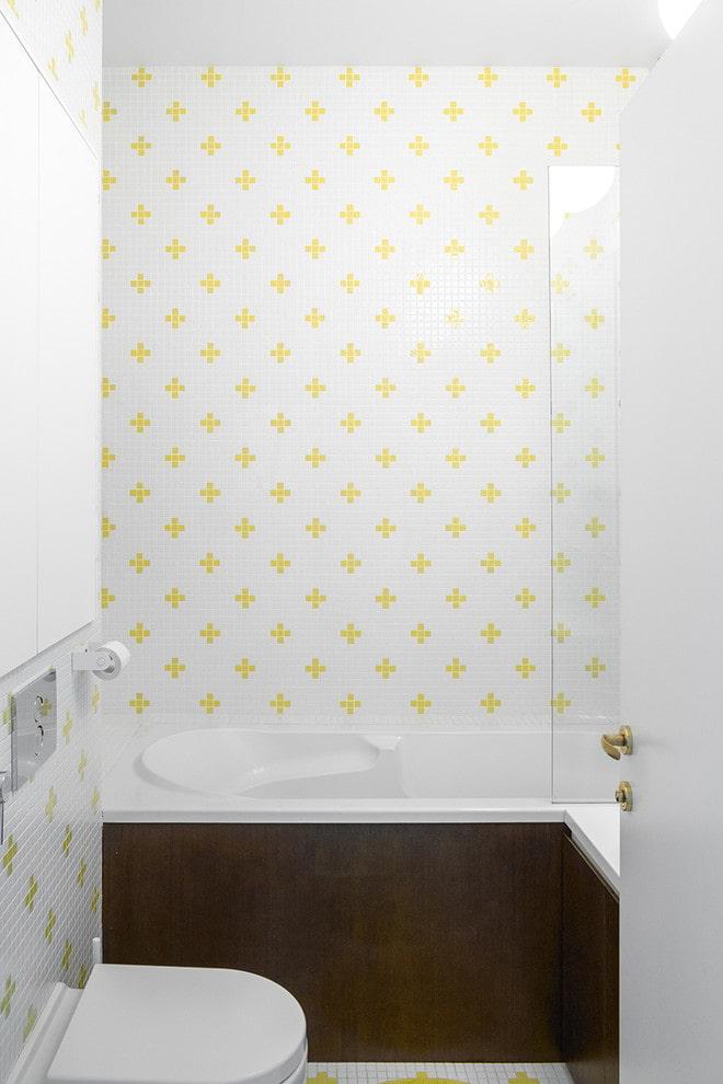 conception de la salle de bain combinée à Khrouchtchev