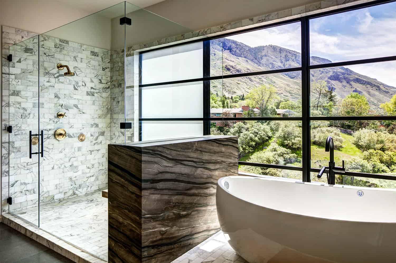 résidence-midcentury-salle de bain