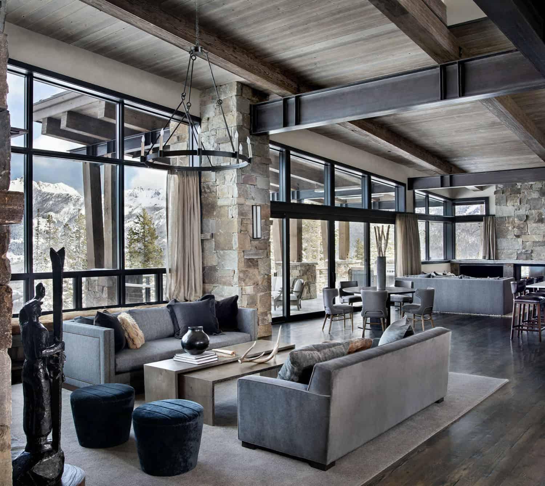 salon-moderne-de-montagne