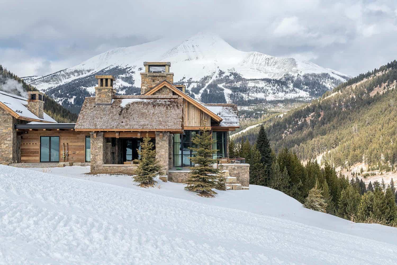 extérieur-maison-de-ski-moderne