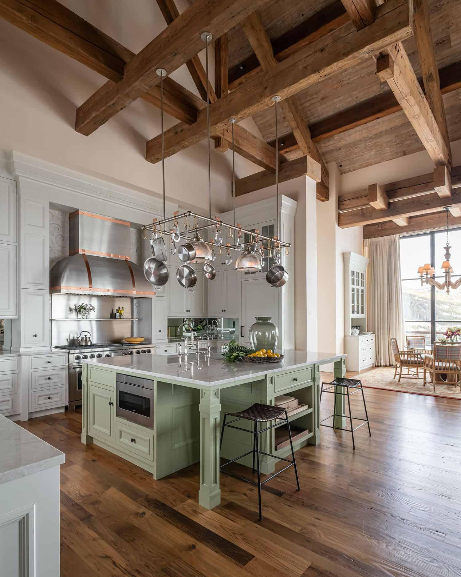cuisine-salle-a-manger-moderne-ski-house