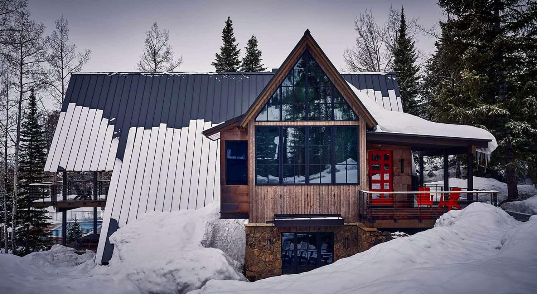 A-frame-cabine-extérieur