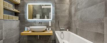Ванная серого цвета: особенности дизайна, фото, лучшие сочетания