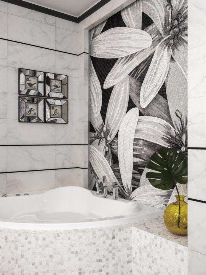 baignoire en acrylique