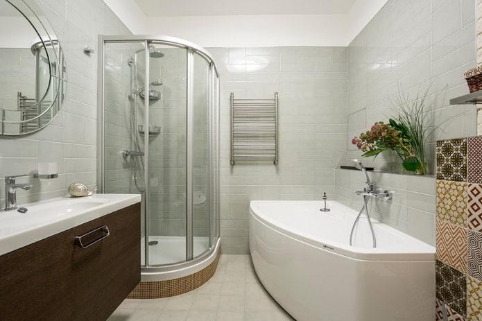 bain et douche autoportants