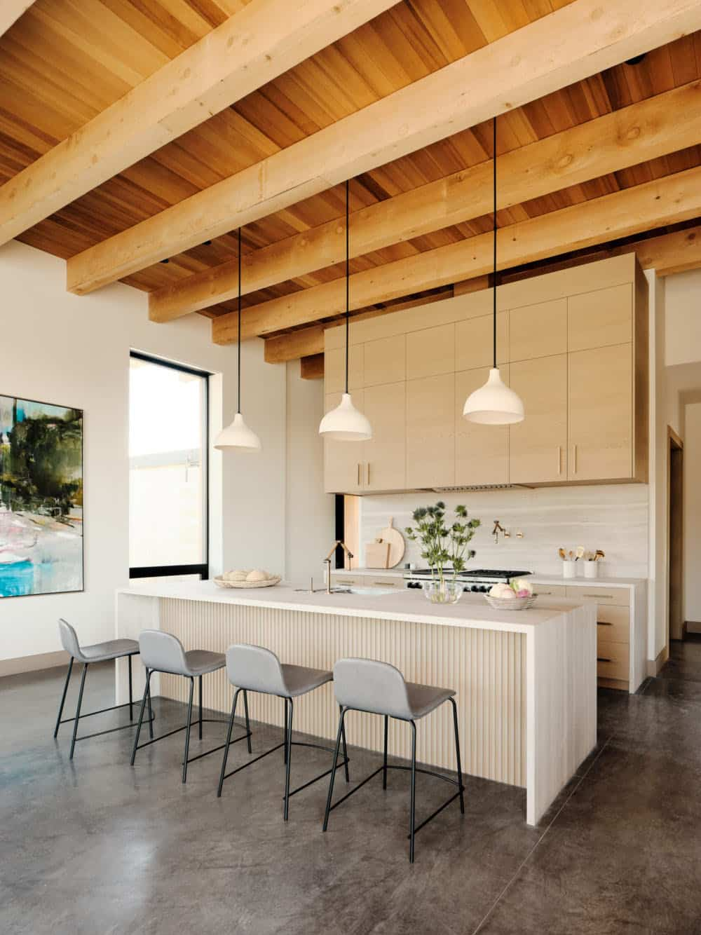 cuisine-maison-de-plage-moderne