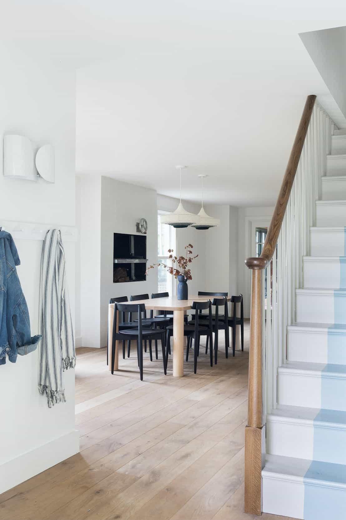escalier de style ferme