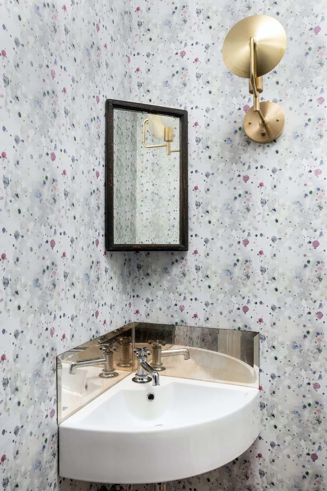 bain de poudre de style ferme