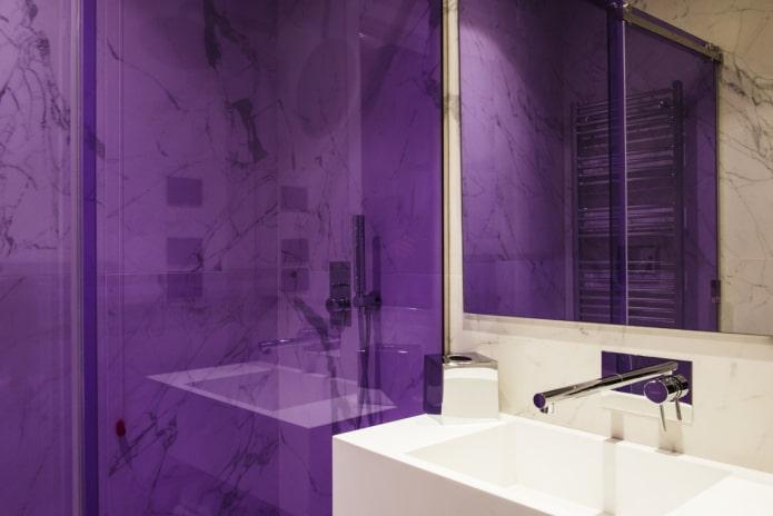 Verre violet