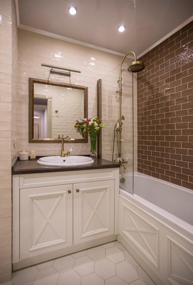 meubles de salle de bain de style classique