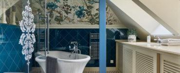 Ванная комната в классическом стиле: выбор отделки, мебели, сантехники, декора, освещения
